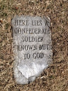 (Old) Mt. Holly Springs C.S. Headstone